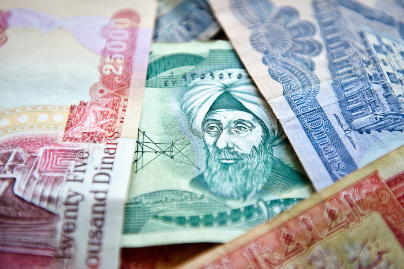 Faces on the Iraqi Dinars